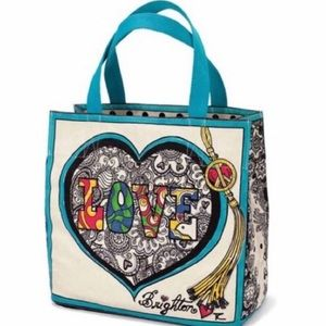 New without tags Brighton LOVE tote shoulder bag